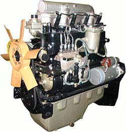 Дизельный двигатель Д242-42