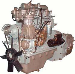 """Как известно, на ЗИЛ  """"бычок """" устанавливались тракторные двигатели, и самый первый из них был двигатель ММЗ Д-245.12С."""